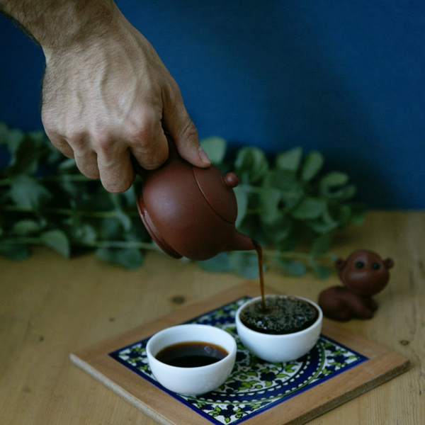 Satemwa mørk, fermentert te