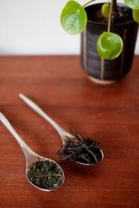 Løsvekts te på skje