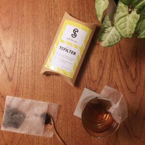 tefilter laget av maisstivelse