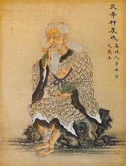 Maleri av Shénnóng