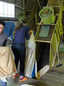 Masking for damping av sencha