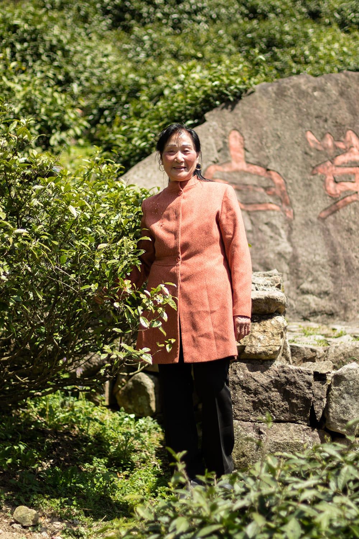 Anji Bai Cha moderbusk